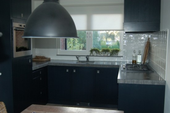 Grijze Keuken Met Zwart Blad : Handgemaakte keukens Slaapkamer en Badkamer Woonkamer meubels en